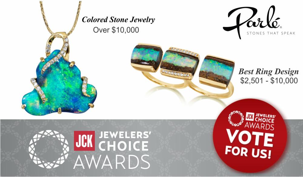 JCK Jewelers Choice Award - Vote for US!