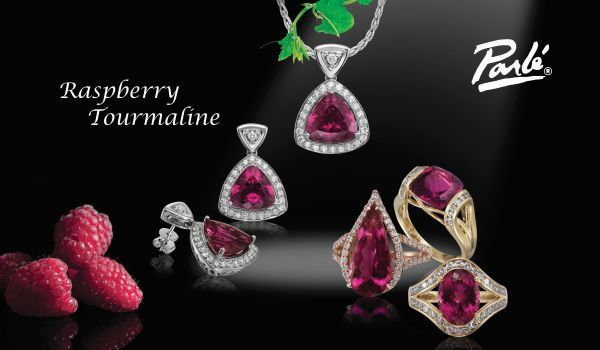 Raspberry Tourmaline Collection