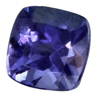 5mm Cushion Tanzanite (0.72 ct)