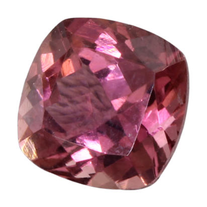 6mm Cush Pink Tourmaline (0.97 ct)
