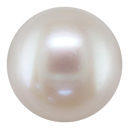 7.5-8mm Round White Freshwater Cultured Pearl (3.15 ct)