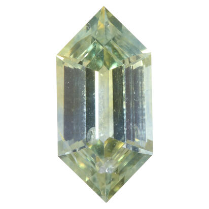 8x4 Elongated Hexagon Cut Montana Sapphire (0.88 ct)