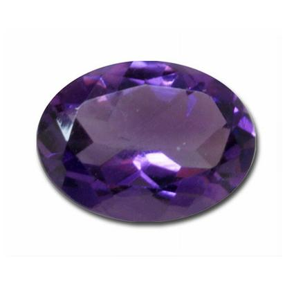 5x7 Oval Checkerboard Amethyst (0.85 ct)