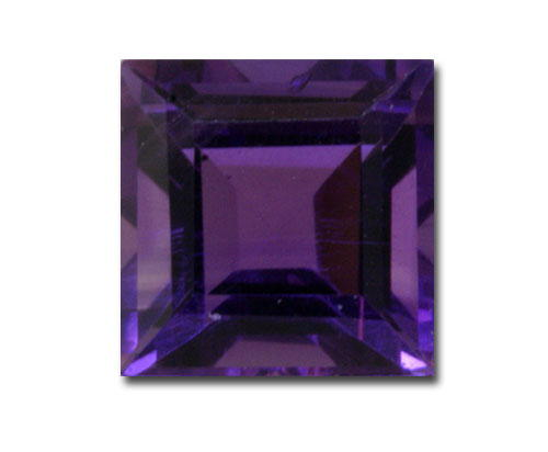 6mm Square Invisible Amethyst (1.04 ct)