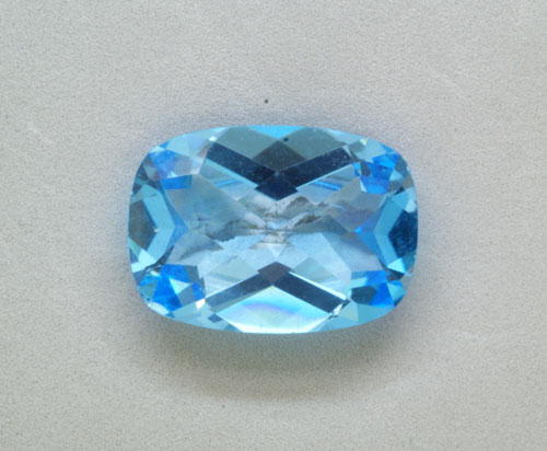 5mm Cushion Blue Topaz (1.00 ct)
