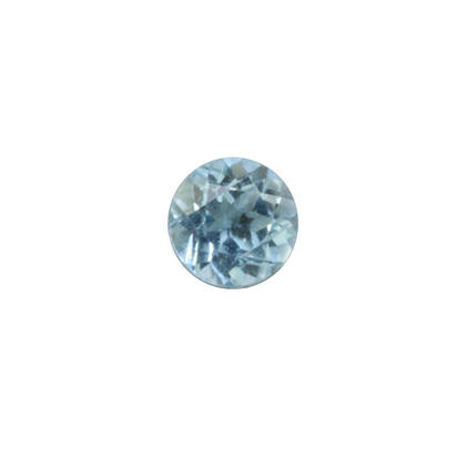 3.5mm Round Blue Zircon Dc 0.23ct (0.23 ct)