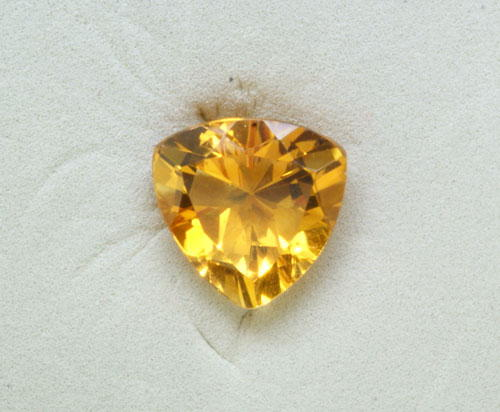9mm Trillion Citrine (2.01 ct)