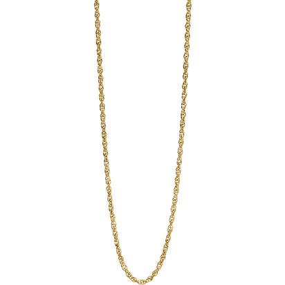 "14K Yellow Gold 18"" 6rl Rope Chain 