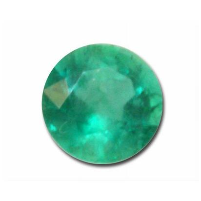 3.5mm Round Emerald (0.22 ct)