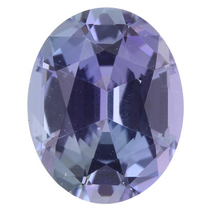 8.84x7.04x4.50 Oval Peacock Tanzanite (1.83 ct)