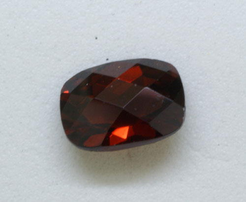 5mm Cushion Rose Cut Garnet (0.77 ct)