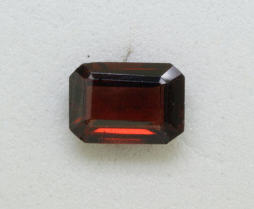 4x6 Octagon Garnet (0.74 ct)