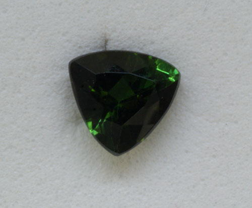 5mm Trillion Green Tourmaline (0.51 ct)