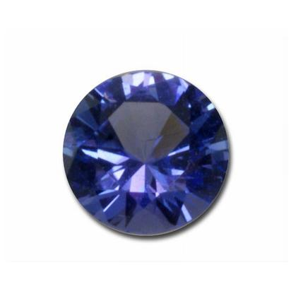 2.5mm Round Tanzanite (0.07 ct)