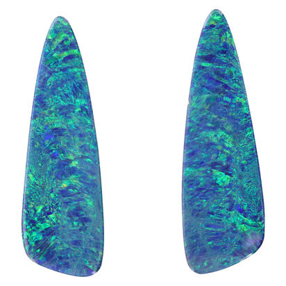 Freeform Australian Opal Doublet (ct weight Varies )