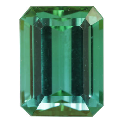 9.44x7.17 Octagon Mint Tourmaline (3.09 ct)