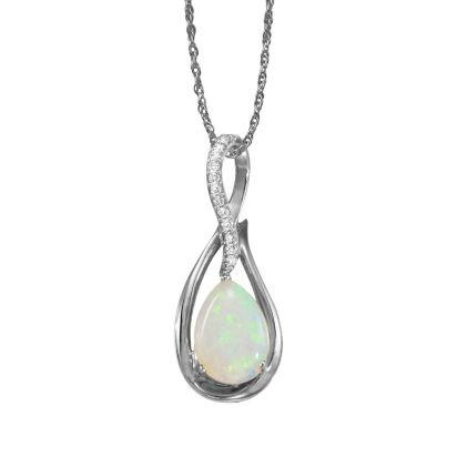14K White Gold Semi-Mount/Diamond Pendant | PPF068XX2WI