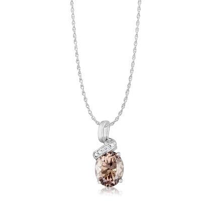 Parl colored gemstone jewelry 14k white gold lotus garnetdiamond pendant ppf097lg2wi aloadofball Choice Image