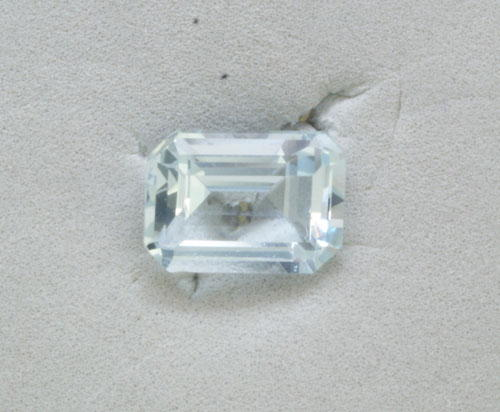 5x7 Octagon Aquamarine (0.82 ct)