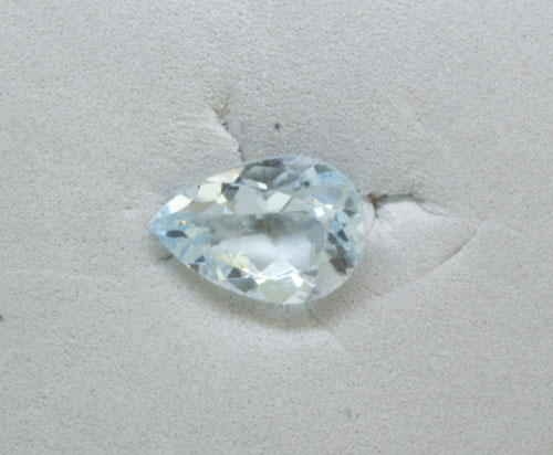 9x6 Pear Aquamarine (1.20 ct)