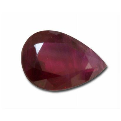 4x3 Pear Ruby (0.22 ct)