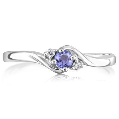 14K White Gold Semi-Mount/Diamond Ring | R30DBNXXW