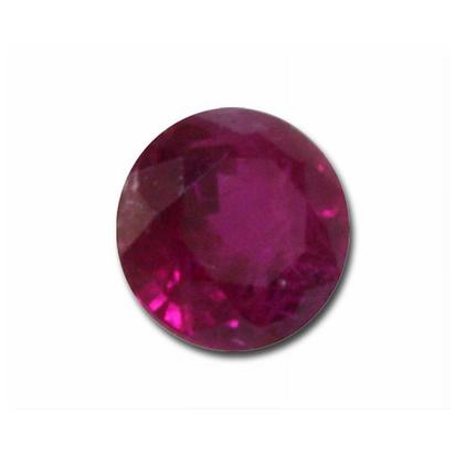 4mm Round Ruby (0.36 ct)