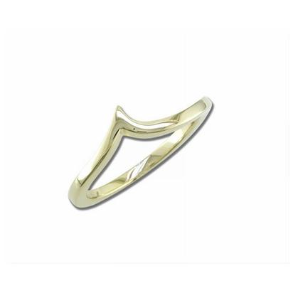 14K Yellow Gold Wedding Band | RBC045XXXCI-B