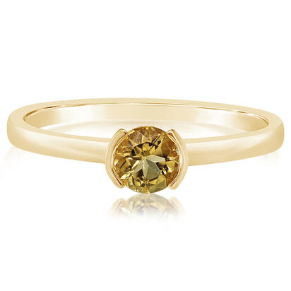 14K Yellow Gold Citrine Ring | RCC229C2XCI