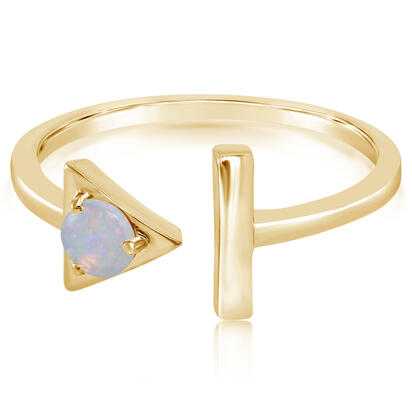 14K Yellow Gold Australian Opal Ring | RCO232N1XCI