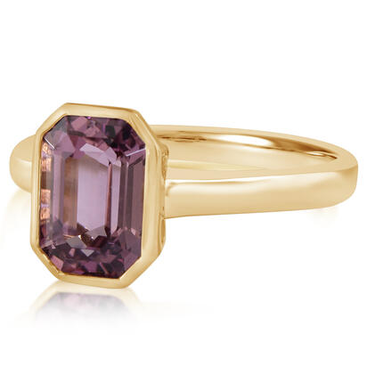 14K Yellow Gold Purple Garnet Ring | RGPOC900257CI