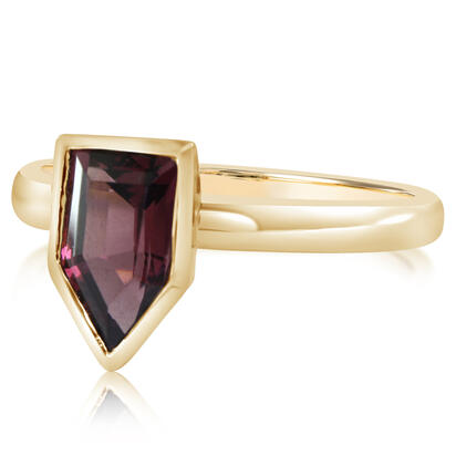 14K Yellow Gold Rhodolite Garnet Ring | RL2FS990165CI