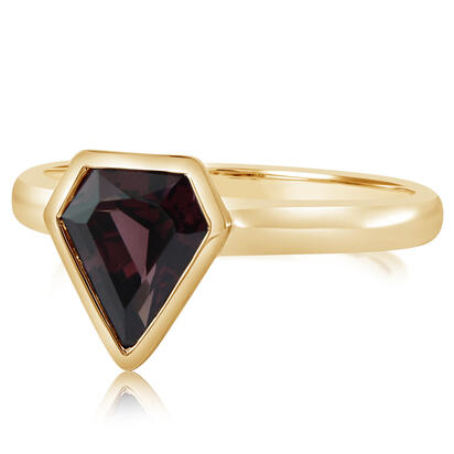 14K Yellow Gold Rhodolite Garnet Ring | RL2FS990171CI