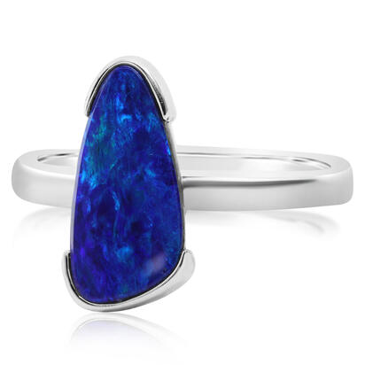14K Yellow Gold Australian Opal Doublet Ring | ROD3311AXWI