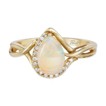 14K Yellow Gold Semi-Mount/Diamond Ring | RPF068XX2CI
