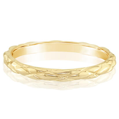 14K Yellow Gold Band | RPF732XXXC