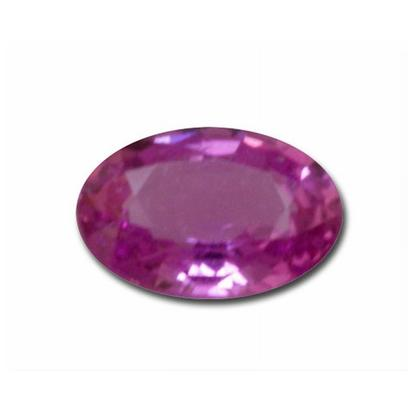4x5 Oval Buff Top Pink Sapphire (0.42 ct)