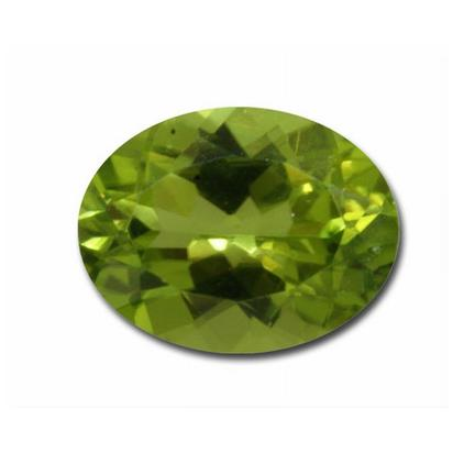 9x7 mm Oval Peridot (1.65 ct)