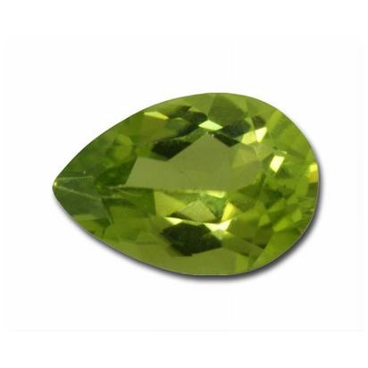9x6 Pear Peridot (1.27 ct)