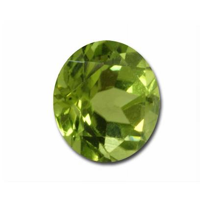 7mm Round Peridot (1.25 ct)