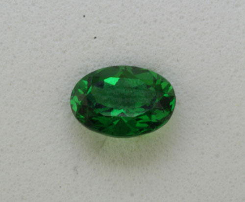 3x2 Oval Tsavorite (0.08 ct)