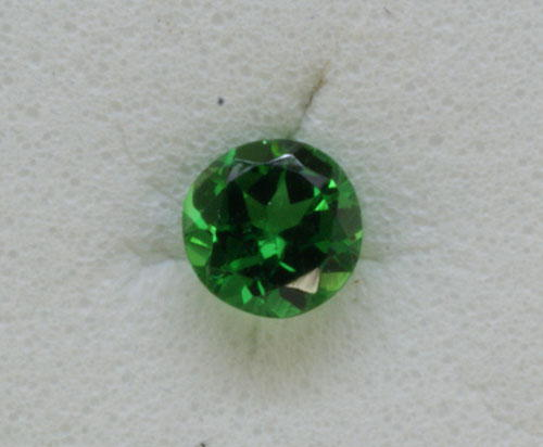 2.5mm Round Dc Tsavorite (0.06 ct)